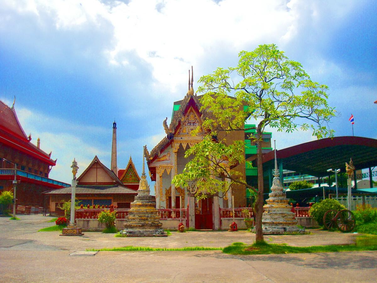 วัดปากบึง (Wat Pak Bung) ถนนมีนบุรี - ลาดกระบัง หมู่ 4 แขวงคลองสองต้นนุ่น เขตลาดกระบัง จังหวัดกรุงเทพมหานคร 10520