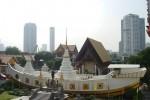 วัดยานนาวา (Wat Yannawa) ตั้งอยู่ริมแม่น้ำเจ้าพระยา ติดถนนเจริญกรุง เลขที่ 40 ถ.เจริญกรุง แขวงยานนาวา เขตสาธร กรุงเทพมหานคร 10120