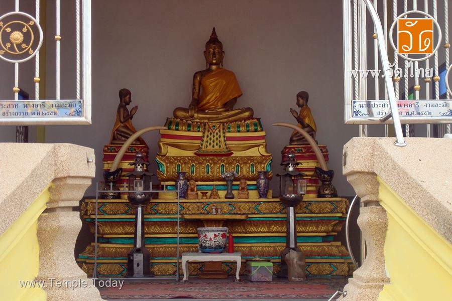 วัดหลังศาลประสิทธิ์ (Wat LangSan Prasit) ตำบลท่าจีน อำเภอเมืองสมุทรสาคร จังหวัดสมุทรสาคร 74000