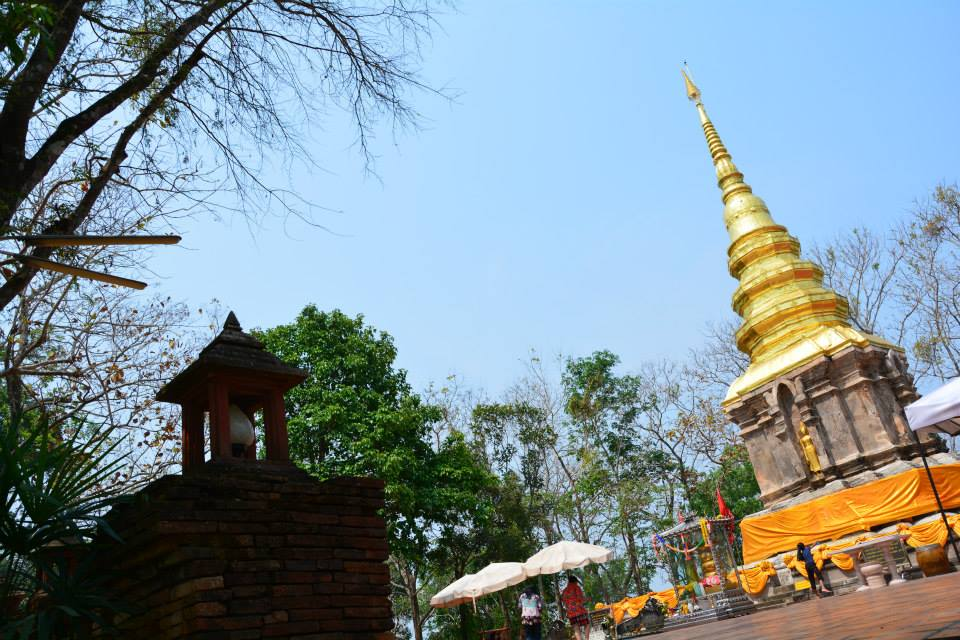วัดพระธาตุจอมกิตติ (Wat phra that chom kitti) ที่ตั้ง ตำบลเวียง อำเภอเชียงแสน จังหวัดเชียงราย 57150