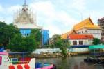 วัดสะพาน พระโขนง (Wat Saphan Phrakhanong) 28 หมู่ 15 ซอยริมทางรถไฟเก่า สุขุมวิท 50 แขวงพระโขนง เขตคลองเตย กรุงเทพมหานคร 10250