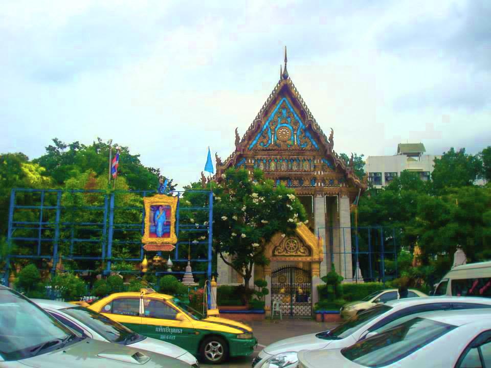 """วัดอภัยทายาราม """"วัดมะกอก"""" Wat Aphaitayaram (Wat Makok) ถนนราชวิถี แขวงทุ่งพญาไท เขตราชเทวี กรุงเทพมหานคร 10400"""