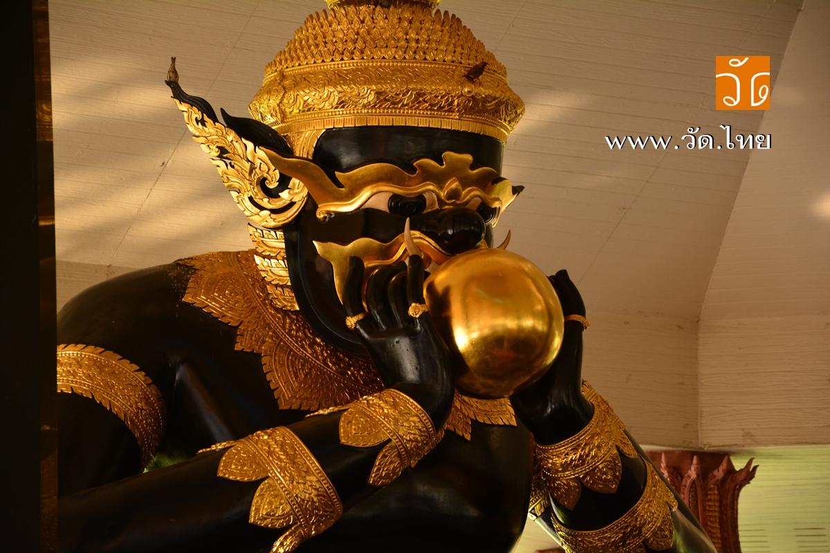 วัดศีรษะทอง (วัดหัวทอง) Wat Srisathong วัดพระราหู ตั้งอยู่เลขที่ 22 หมู่ 1 ตำบลศีรษะทอง อำเภอนครชัยศรี จังหวัดนครปฐม 73120