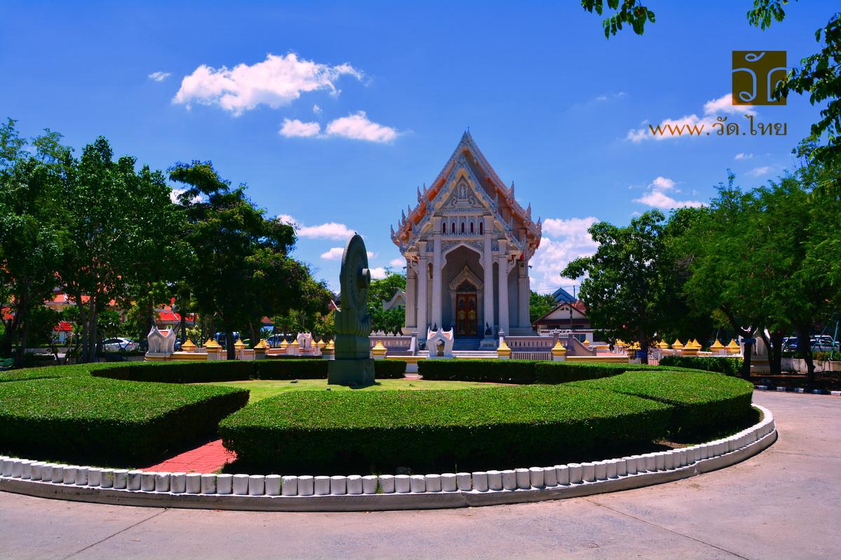 วัดชลประทานรังสฤษดิ์ (Wat Chollapratarn Rangsarit) พระอารามหลวง ตำบลบางตลาด อำเภอปากเกร็ด จังหวัดนนทบุรี 11120