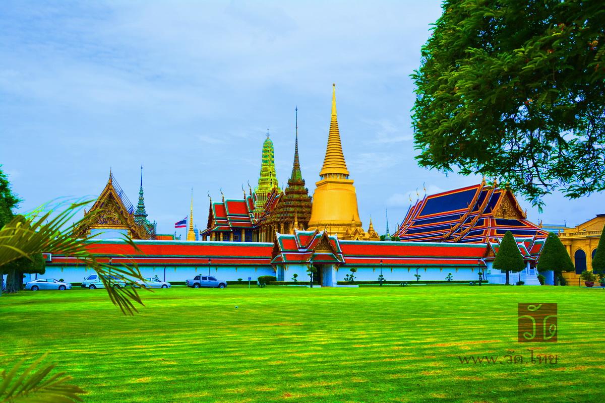 วัดพระศรีรัตนศาสดาราม Wat Phra Si Rattana Satsadaram (วัดพระแก้ว Wat Phra Kaew) ถนนหน้าพระลาน แขวงพระบรมมหาราชวัง เขตพระนคร กรุงเทพมหานคร 10200