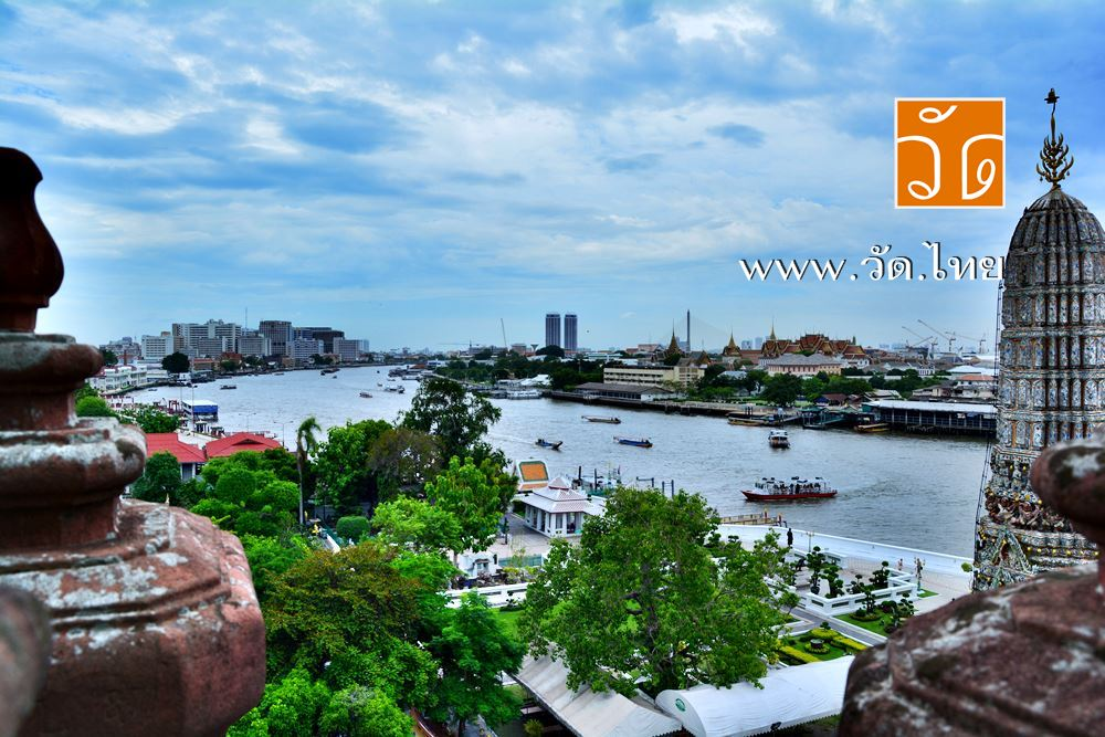 วัดอรุณราชวรารามราชวรมหาวิหาร (วัดอรุณ หรือ วัดแจ้ง) Wat Arun Ratchawararam Ratchawaramahawihan (Wat Arun) 158 ถนนวังเดิม แขวงวัดอรุณ เขตบางกอกใหญ่ กรุงเทพมหานคร 10600