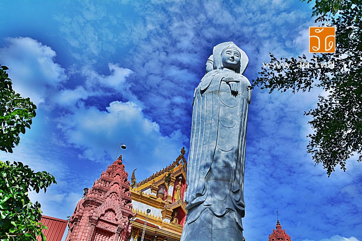 วัดประชาศรัทธาธรรม (วัดเสาหิน) [Wat Pracha Sattha Tham] แขวงบางซื่อ เขตบางซื่อ กรุงเทพมหานคร 10800