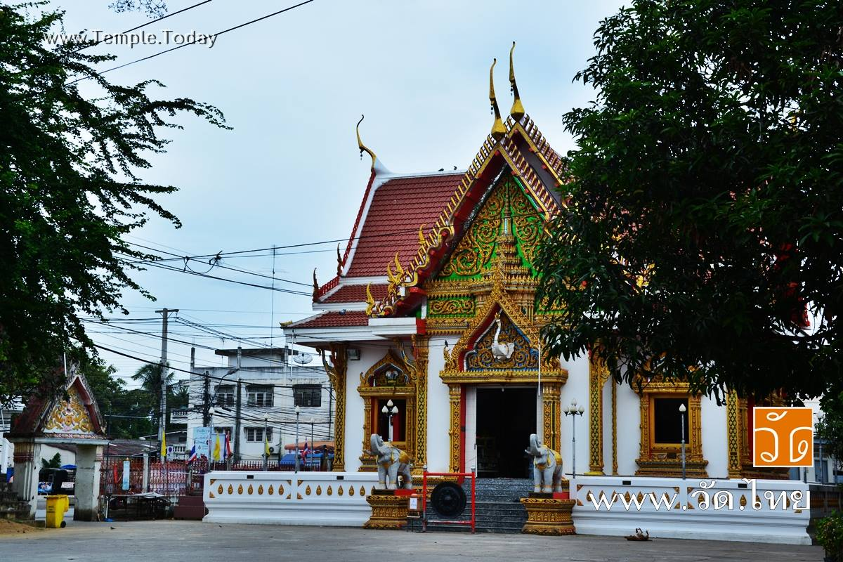 วัดโรงช้าง (Wat Rong Chang) ถนนเขางู ตำบลหน้าเมือง อำเภอเมืองราชบุรี จังหวัดราชบุรี 70000