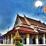 วัดด่านสำโรง (Wat Dan Samrong) ตำบลสำโรงเหนือ อำเภอเมือง จังหวัดสมุทรปราการ