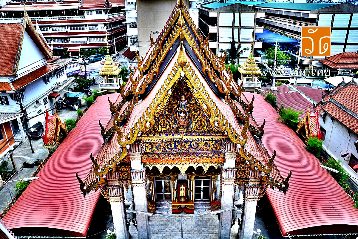 วัดสร้อยทอง (Wat Soi Thong) ถนนประชาราษฎร์ สาย 1 แขวงบางซื่อ เขตบางซื่อ กรุงเทพมหานคร 10800