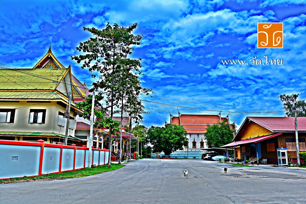วัดเทพอาวาส (Wat Thep Awat) ตำบลหน้าเมือง อำเภอเมืองราชบุรี จังหวัดราชบุรี 70000