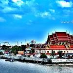 วัดวิมุตยาราม (Wat Wimuttayaram) แขวงบางอ้อ เขตบางพลัด กรุงเทพมหานคร