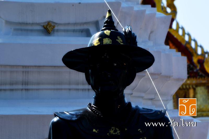สมเด็จพระเจ้าตากสิน ณ วัดราชคฤห์วรวิหาร [วัดมอญ] (Wat Rajkrueh) ตั้งอยู่เลขที่ 434 ถนนเทอดไท แขวงบาง
