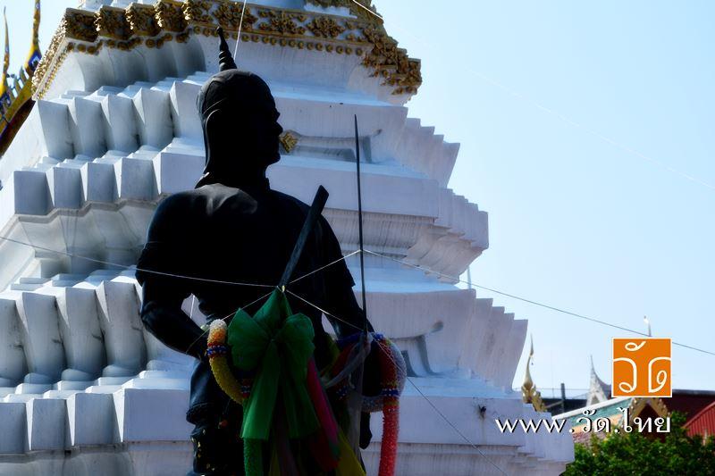พระยาพิชัยดาบหัก ณ วัดราชคฤห์วรวิหาร [วัดมอญ] (Wat Rajkrueh) ตั้งอยู่เลขที่ 434 ถนนเทอดไท แขวงบางยี่