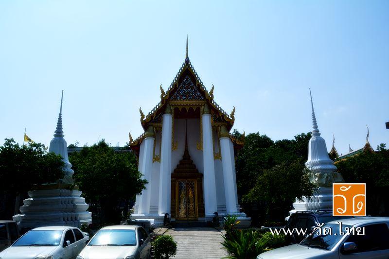 พระวิหารใหญ่ พระอุโบสถเดิมสมัยอยุธยา วัดราชคฤห์วรวิหาร [วัดมอญ] (Wat Rajkrueh) ตั้งอยู่เลขที่ 434 ถน