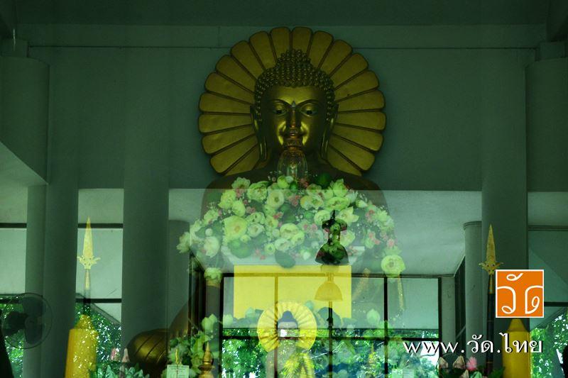 พระมหาทันตธาตุ และ พระพุทธเมตตา วัดประยงค์กิตติวนาราม 22 หมู่ 4 ถนนประชาสำราญ แขวงคลองสิบสอง เขตหนอง