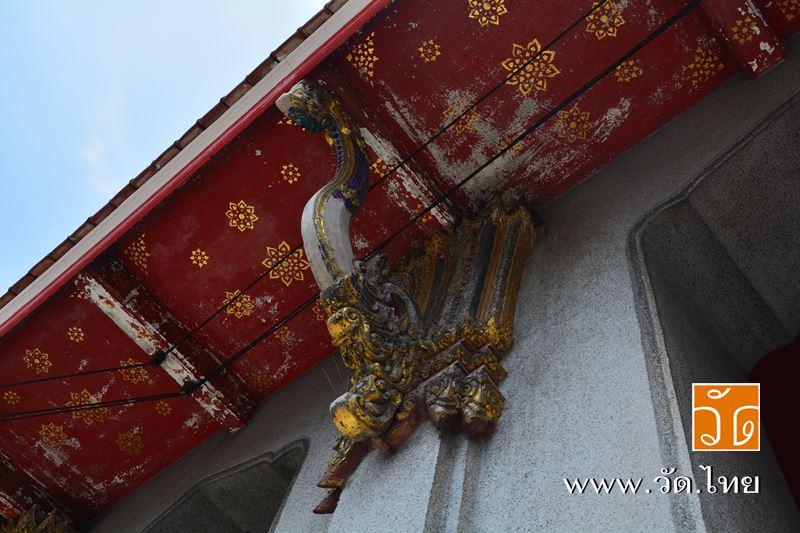 พระอุโบสถ วัดนวลนรดิศวรวิหาร (Wat Nuannoradit) ถนนเพชรเกษม ซอยเพชรเกษม 19 แยก 1 แขวงปากคลอง เขตภาษีเ
