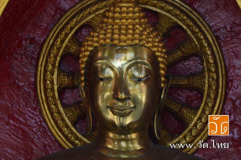 พระพุทธรูปหน้าพระอุโบสถ วัดนวลนรดิศวรวิหาร (Wat Nuannoradit) ถนนเพชรเกษม ซอยเพชรเกษม 19 แยก 1 แขวงปา