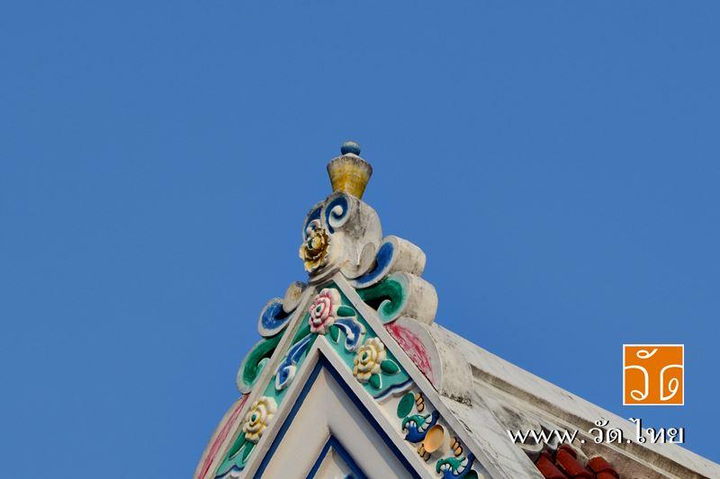 พระอุโบสถ วัดจันทารามวรวิหาร (วัดกลาง ตลาดพลู) [Wat Chantharam Worawihan] ถนนเทอดไท แขวงบางยี่เรือ เ