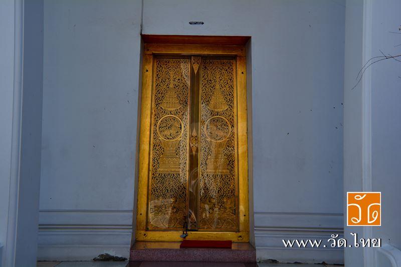 พระวิหาร วัดจันทารามวรวิหาร (วัดกลาง ตลาดพลู) [Wat Chantharam Worawihan] ถนนเทอดไท แขวงบางยี่เรือ เข