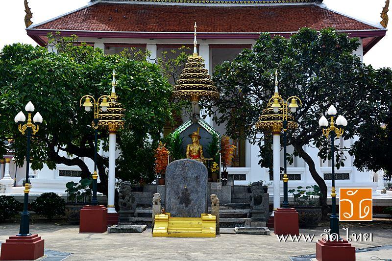 สมเด็จพระเจ้าตากสินมหาราช วัดอินทารามวรวิหาร (wat intharam) ถนนเทอดไท แขวงบางยี่เรือ เขตธนบุรี กรุงเ