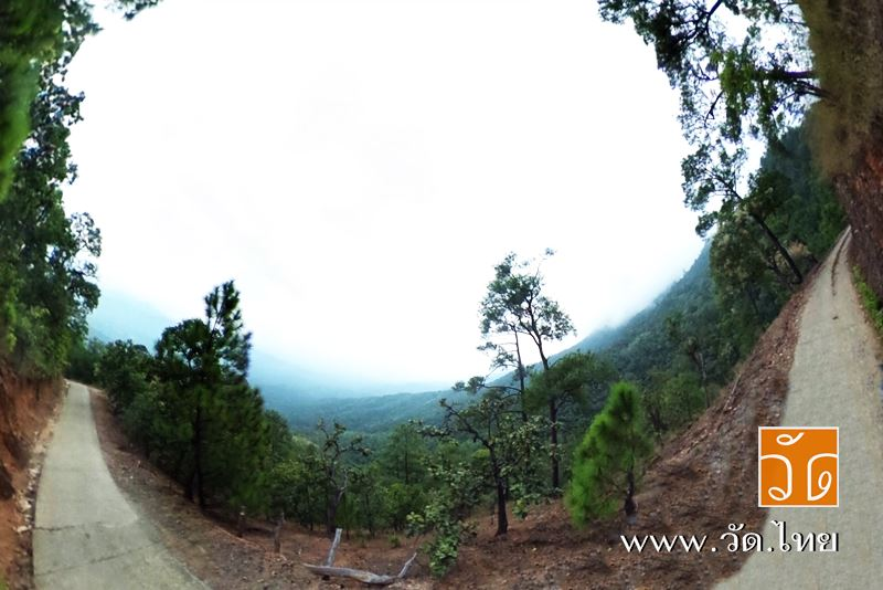 วัดดอยป่าแป๋ (Wat Doi PaPae) ตำบลป่าพลู อำเภอบ้านโฮ่ง จังหวัดลำพูน 51130