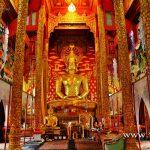 วัดพระธาตุจอมศีล (Wat Phra that Chom Sil) ตำบลบ้านถ้ำ อำเภอดอกคำใต้ จังหวัดพะเยา