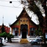 วัดไชยอาวาส (Wat Chai Awat) บ้านประตูเหล็ก ตำบลเวียง  อำเภอเมือง จังหวัดพะเยา
