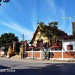 วัดผ้าขาวป้าน (Wat Pha Khao Pan) ตำบลเวียง อำเภอเชียงแสน จังหวัดเชียงราย
