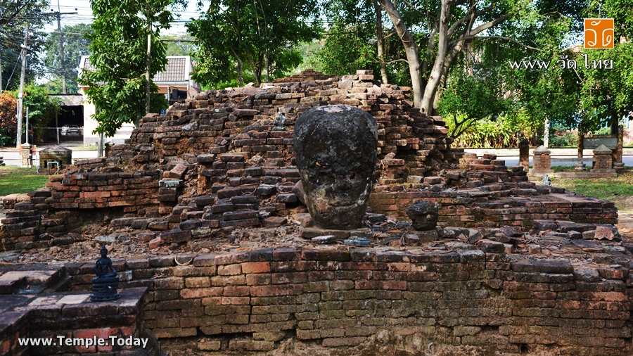 วัดพวกพันตอง (วัดร้าง) Wat Phuok Phan Tong เชียงแสน ถนนริมโขง ตำบลเวียง อำเภอเชียงแสน จังหวัดเชียงราย 57150