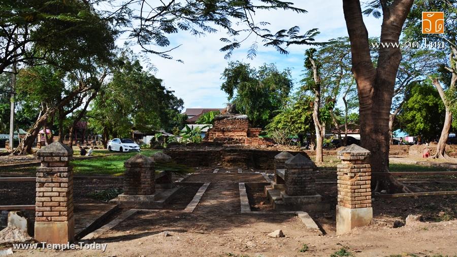 วัดเสาเคียน (Wat Sao Khian) เชียงแสน (วัดร้าง) ถนนริมโขง ตำบลเวียง อำเภอเชียงแสน จังหวัดเชียงราย 57150