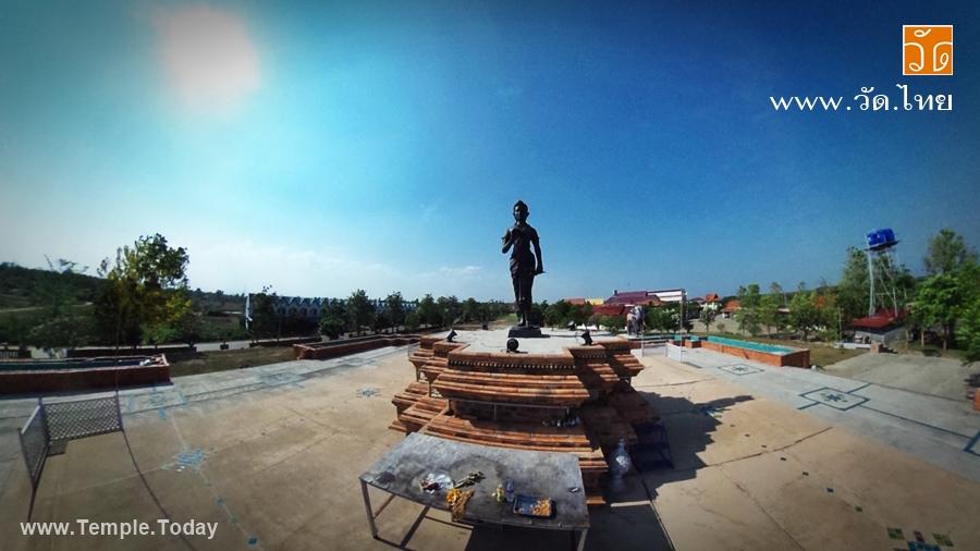 อนุสาวรีย์พระแม่เจ้าจามเทวี (Queen Chamdhevi Monument) ตำบลลำปางหลวง อำเภอเกาะคา จังหวัดลำปาง 52130