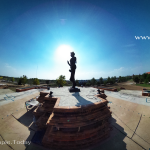 อนุสาวรีย์พระแม่เจ้าจามเทวี (Queen Chamdhevi Monument) ตำบลลำปางหลวง อำเภอเกาะคา จังหวัดลำปาง