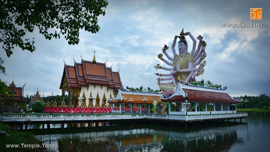 วัดแหลมสุวรรณาราม เกาะสมุย (Wat Laem Suwannaram) ตำบลบ่อผุด อำเภอเกาะสมุย จังหวัดสุราษฎร์ธานี 84320