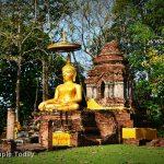 วัดพระธาตุสองพี่น้อง ( Wat Phra That Song Phi Nong ) เชียงแสน เชียงราย