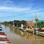 วัดคลองสวน (Wat Klong Suan) ตำบลเกาะไร่ อำเภอบ้านโพธิ์ จังหวัดฉะเชิงเทรา