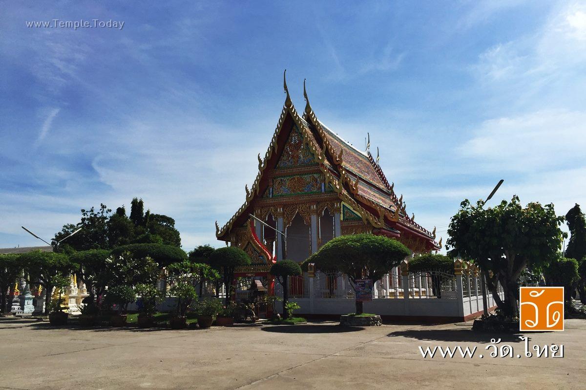 วัดคลองสวน (Wat Klong Suan) ตั้งอยู่เลขที่ 71 หมู่ที่ 4 บ้านคลองสวน ตำบลเกาะไร่ อำเภอบ้านโพธิ์ จังหวัดฉะเชิงเทรา 24140