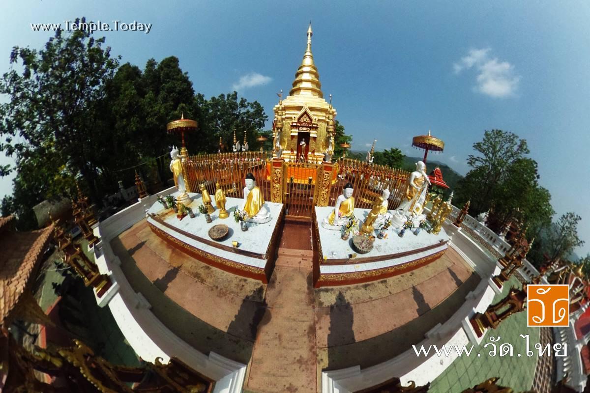 วัดพระธาตุดอยเวา ( Wat Prathat Doi Wao ) ถนนพหลโยธิน ตำบลเวียงพางคำ อำเภอแม่สาย จังหวัดเชียงราย 57130