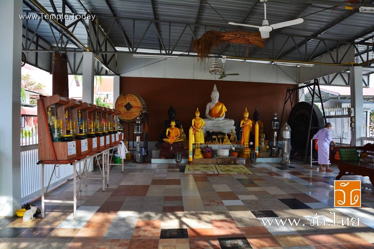 วัดลำผักชี (Wat Lam Phak Chi) ถนนสังฆ์ประชา ถนนฉลองกรุง แขวงลำผักชี เขตหนองจอก กรุงเทพมหานคร 10530