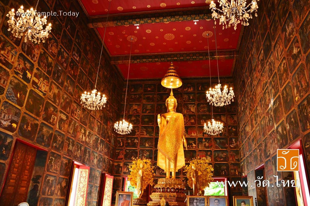 วัดเครือวัลย์วรวิหาร (Wat Kruawan Worawiharn) ถนนอรุณอมรินทร์ แขวงวัดอรุณ เขตบางกอกใหญ่ จังหวัดกรุงเทพมหานคร 10600