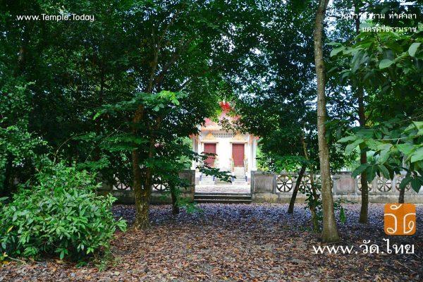 วัดป่าวนาราม (Wat Pa Wanaram) ตำบลท่าขึ้น อำเภอท่าศาลา จังหวัดนครศรีธรรมราช 80160